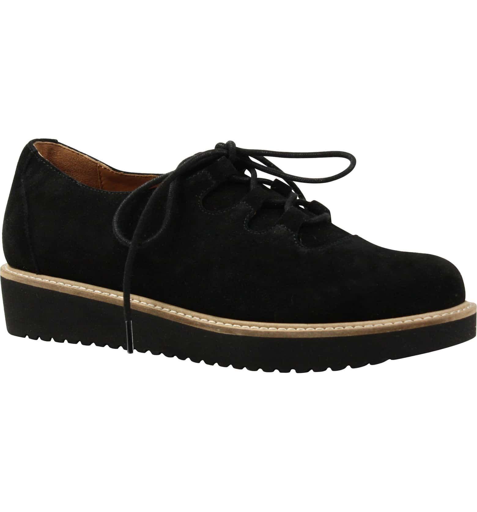 1e44eab2af062 L'AMOUR DES PIEDS Ximena Loafer, Main, color, BLACK SUEDE   Shoes ...