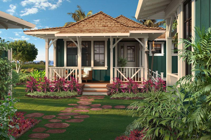Kukuiula plantation house luxury hawaiian homes kukui for Hawaii home builders