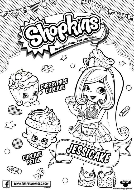 Colouring pages shopkins : Print shopkins season 6 Chef Club Season coloring pages