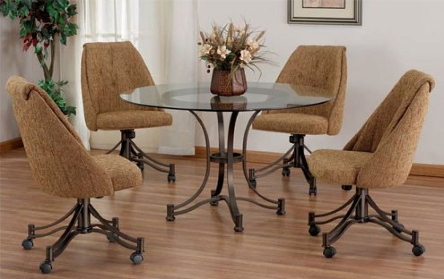Dining Room Chairs With Casters Sets Furniture