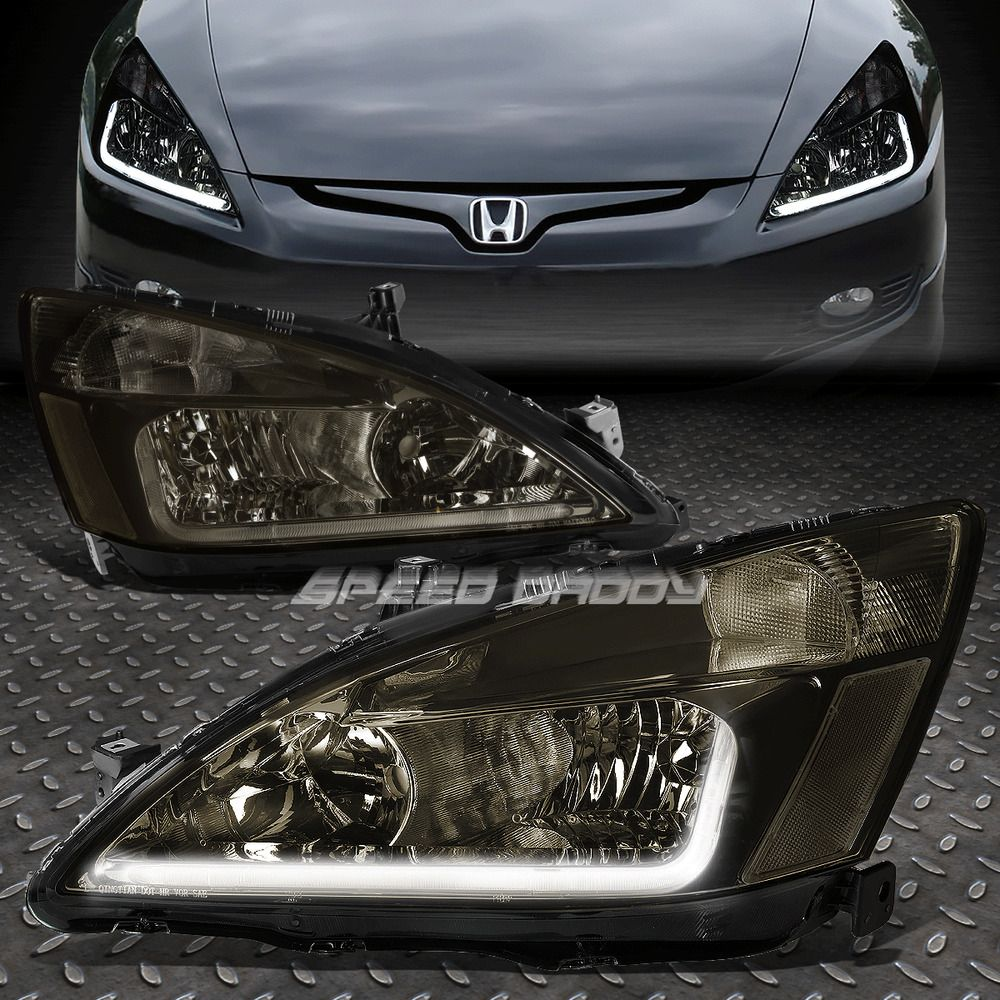 Uses 9005 High 9006 Low Beam Bulbs Not Included Product Video Presentation Led Light Bar Leds Will Require Wirin In 2020 Honda Accord Honda Accord Custom Honda