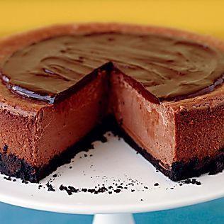 Triple-Chocolate Cheesecake Recipe & Video   Martha Stewart