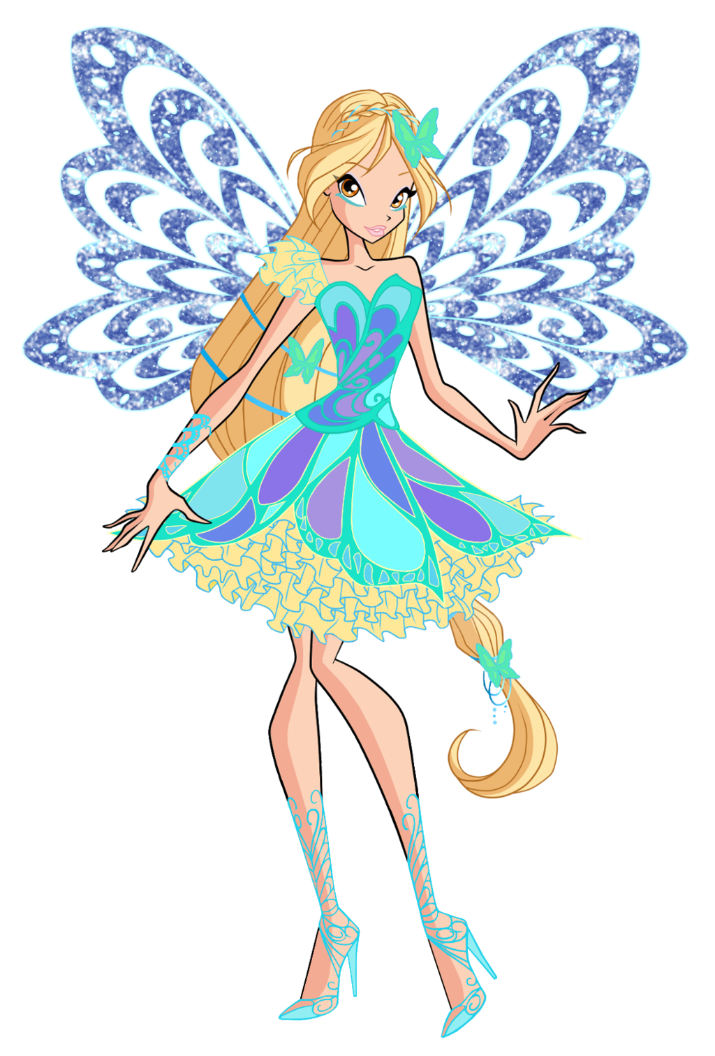 Winx club daphne butterflix daphne butterflix 2d by winx - Winx magic bloomix ...