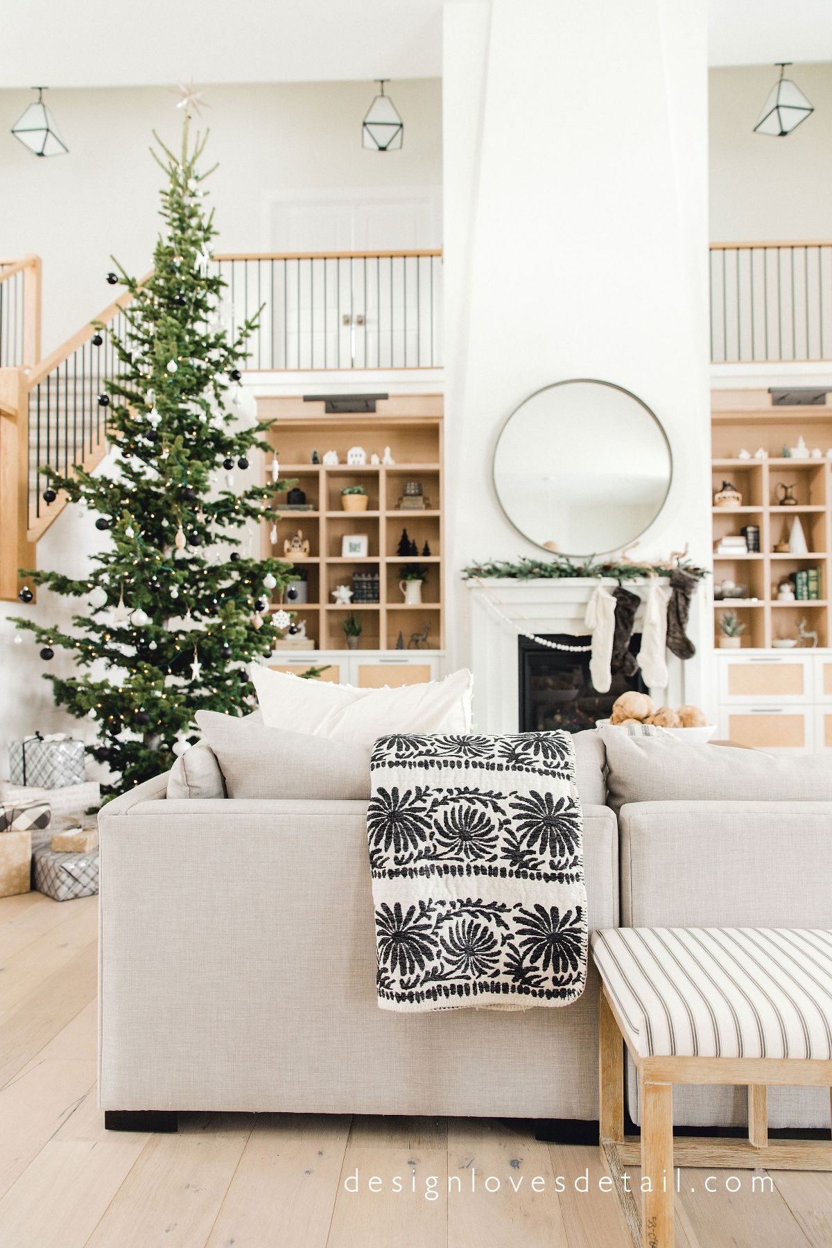 Design Loves Detail Holiday Home Tour A Modern Organic Christmas