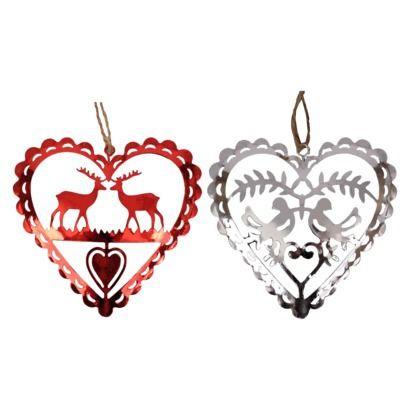 I ♥ these Scandinavian Christmas inspired ornaments! | Scandinavian christmas, Ornaments ...