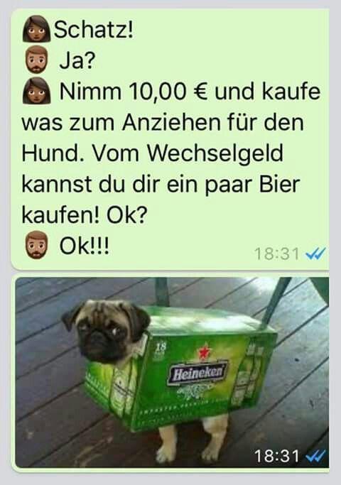 Pin von fische auf Chatverlauf | Lustige whatsapp sprüche ...