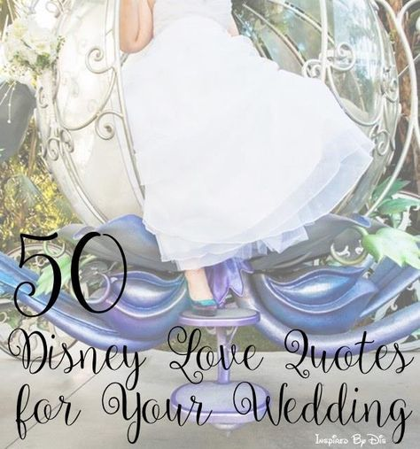 50 disney love quotes for your wedding 50th weddings and disney 50 disney love quotes for your wedding junglespirit Images