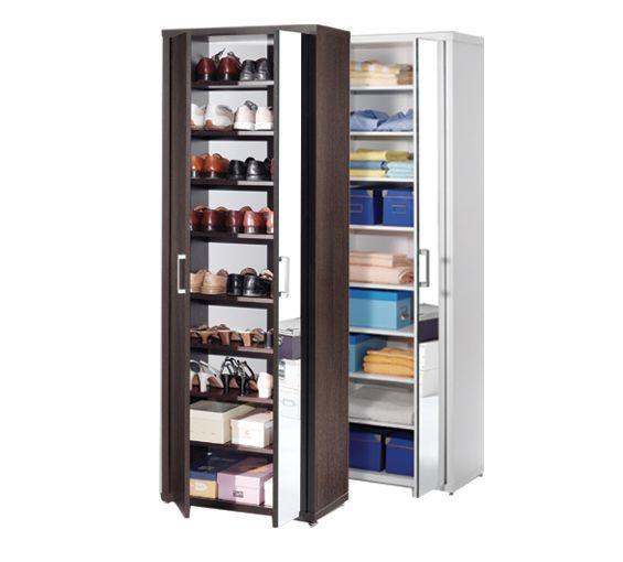 Multifuncional armario zapatero disponible en color - Armario madera blanco ...