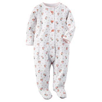 Baby Girl Carter S Floral Sleep Play Carters Baby Girl Carters Girl Baby Clothes