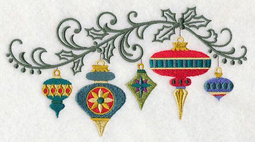 Christmas Ornament Filigree Spray- 11/9/15