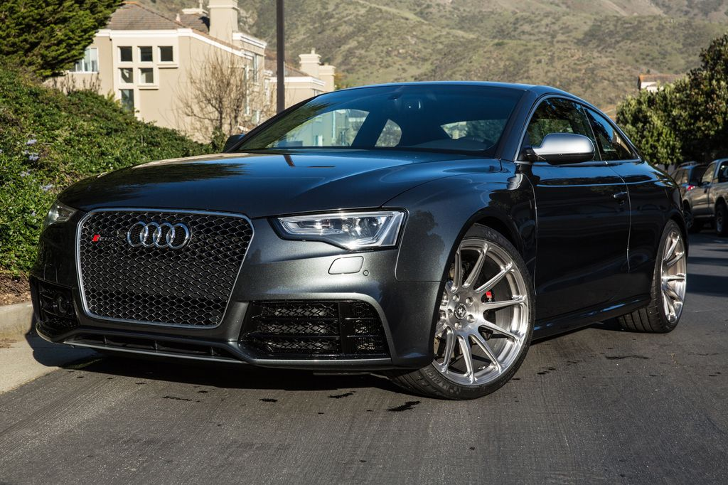 RS5 with HRE P43SC Brushed Tinted Clear (20x10.5)