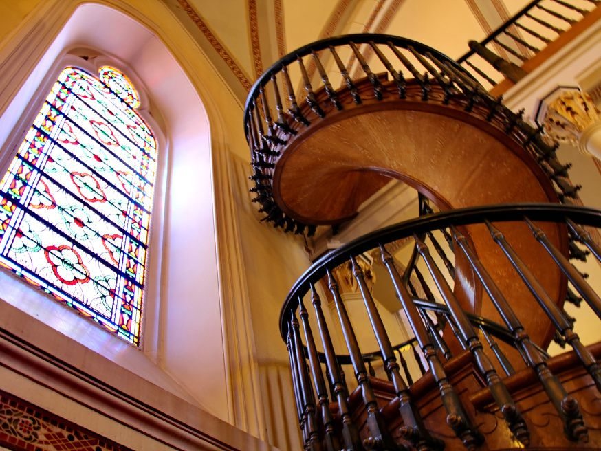Best The Staircase St Joseph Built In New Mexico Loretto 400 x 300