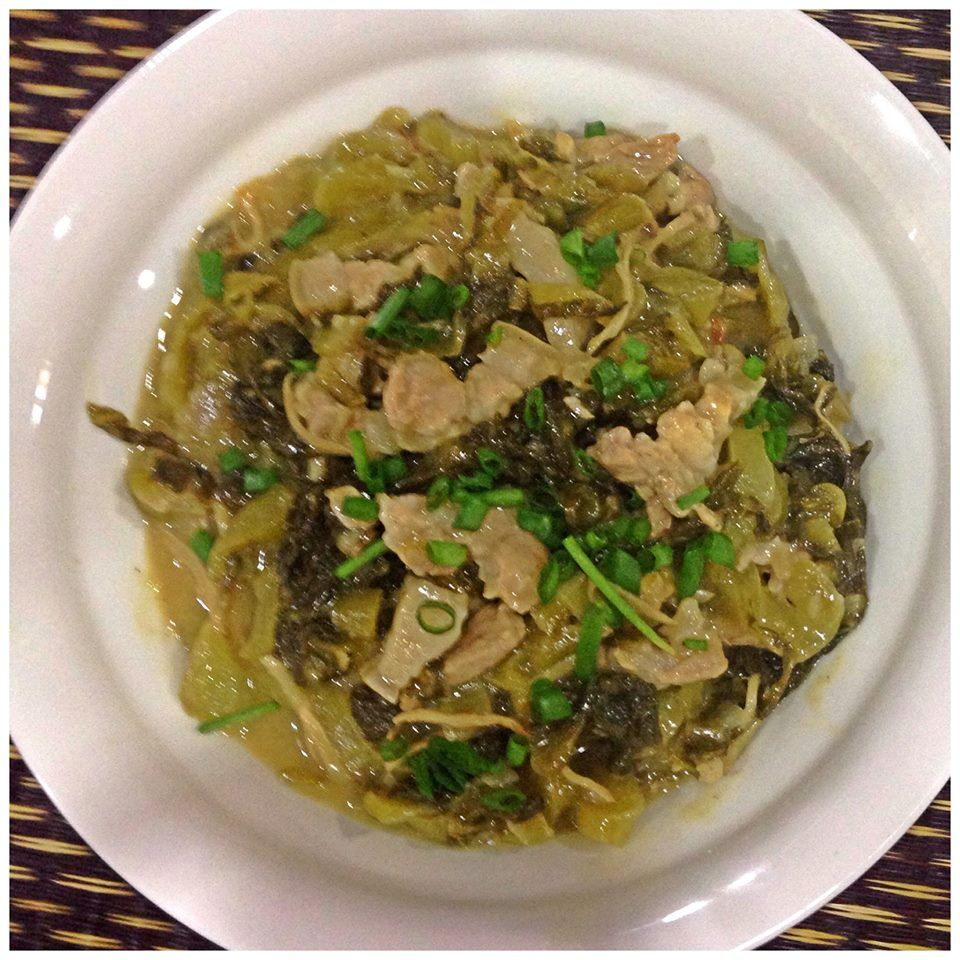 V8 salted vegetable fried with pork strips https v8 salted vegetable fried with pork strips https chinese food recipespork forumfinder Image collections