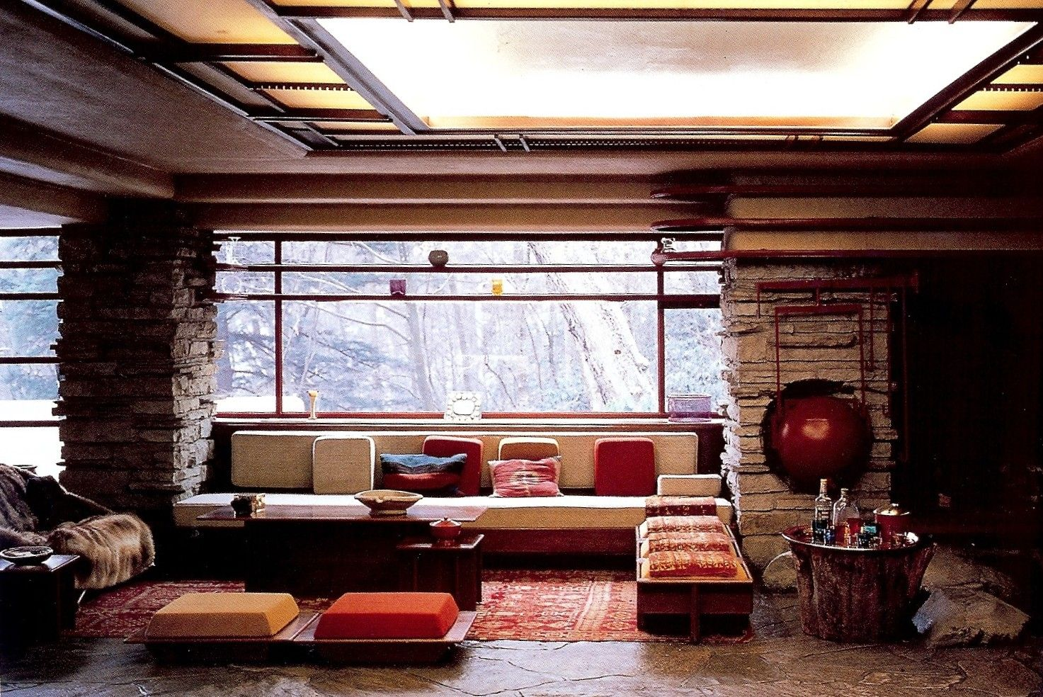 Frank Lloyd Wright Interior Design Home Decoration Inside