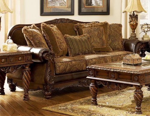Terrific Signature Design By Ashley Fresco Durablend Sofa Antique Home Remodeling Inspirations Basidirectenergyitoicom