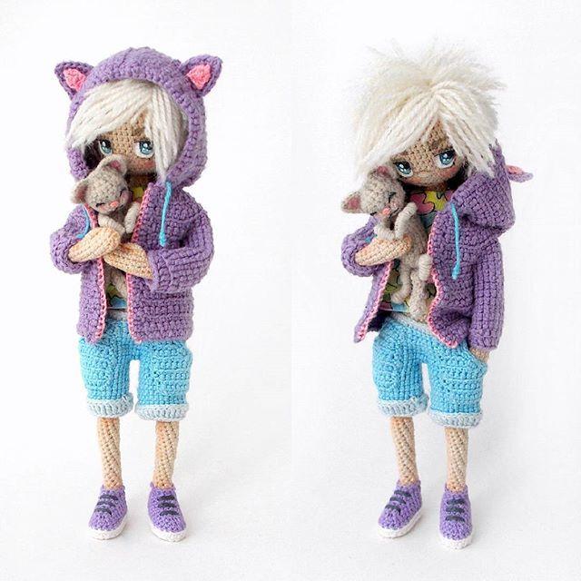 Made by Mint Bunny | VK | nenas crochet | Pinterest | Muñecas ...