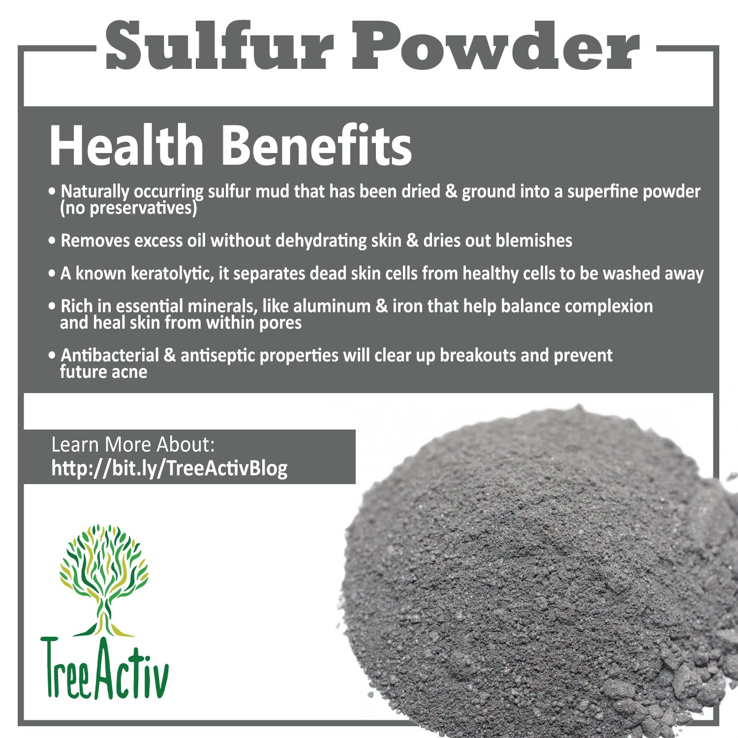 Sulfur Powder For Skin Care in 2019 | The Power Of Natural | Sulphur