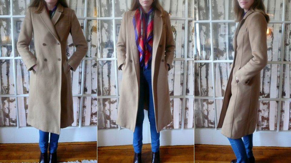 adding hidden cuffs to a coat to prevent drafts or chills