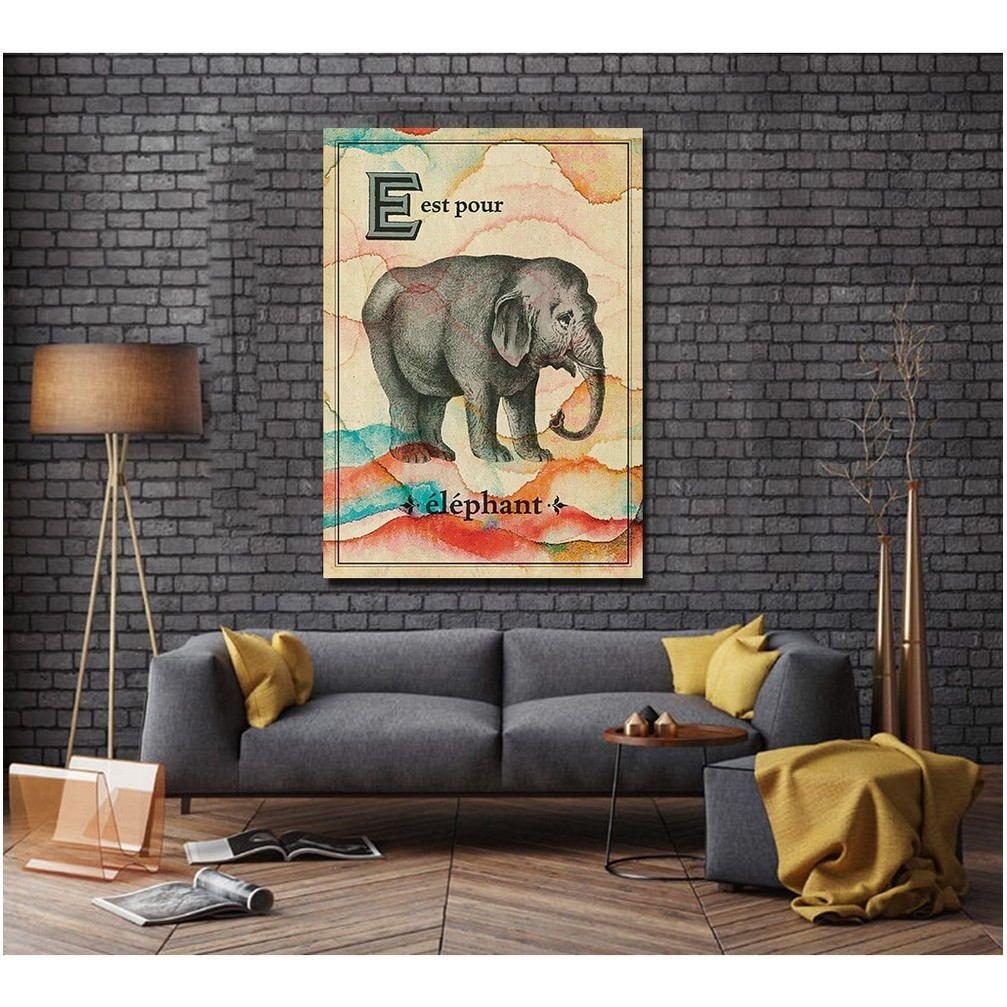 Elephant Living Room Painting Living Room Paint