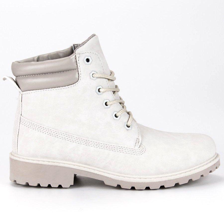 Seastar Szare Traperki Damskie Boots Timberland Boots Shoes