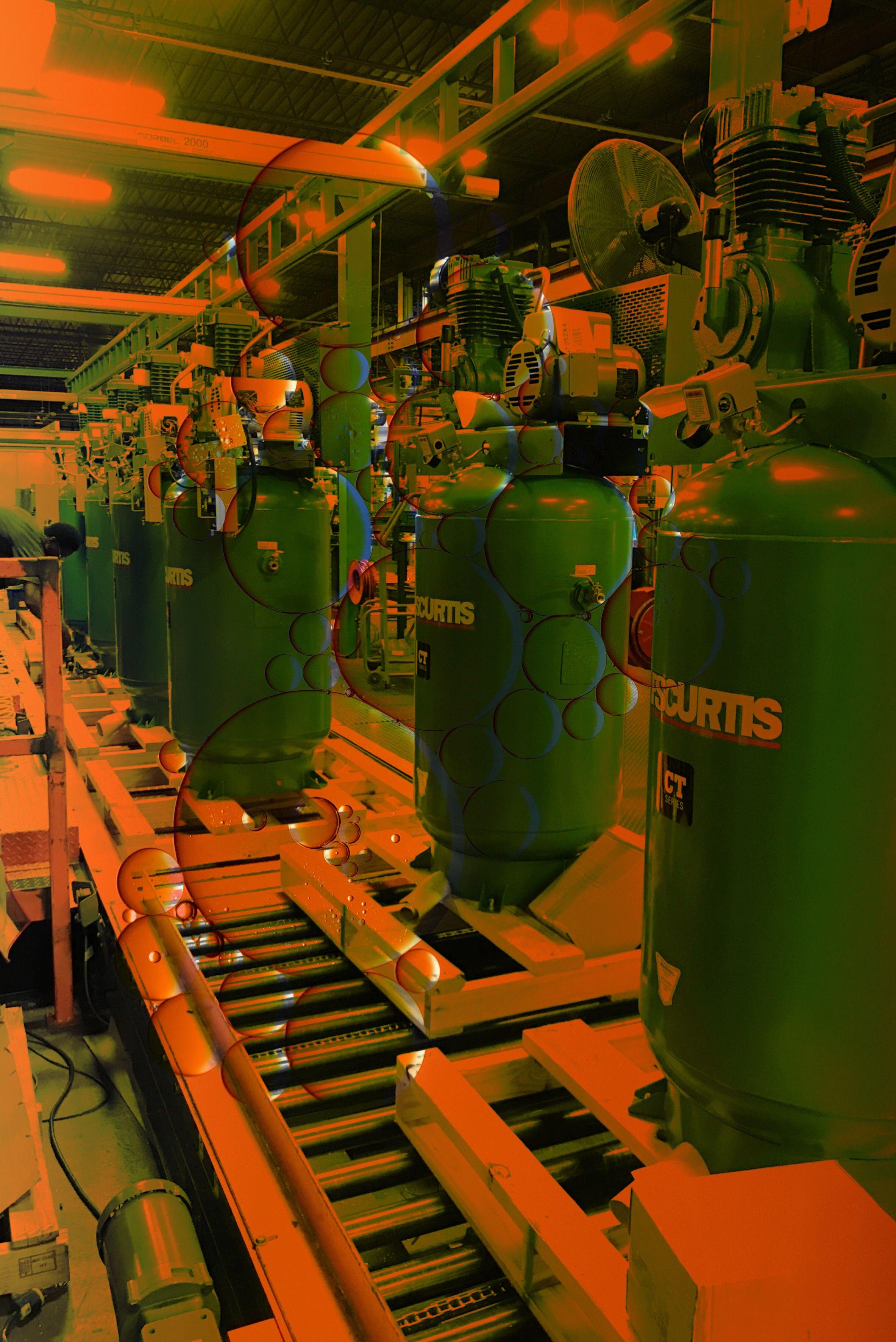 What a beast. Curtis C98 air compressor pump. pump