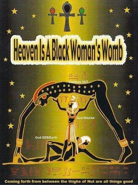 """""""I Met God, She's Black"""""""