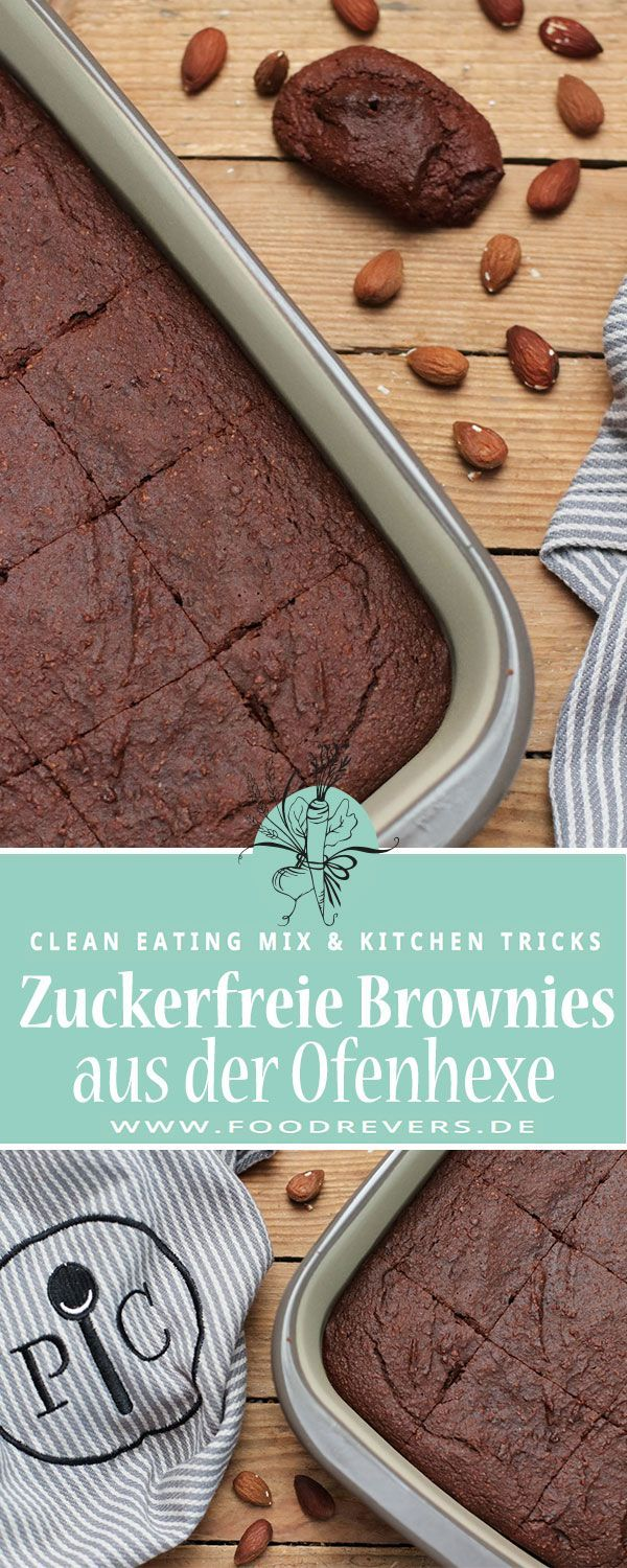 Clean Eating Schokoriegel Muffins - Foodrevers