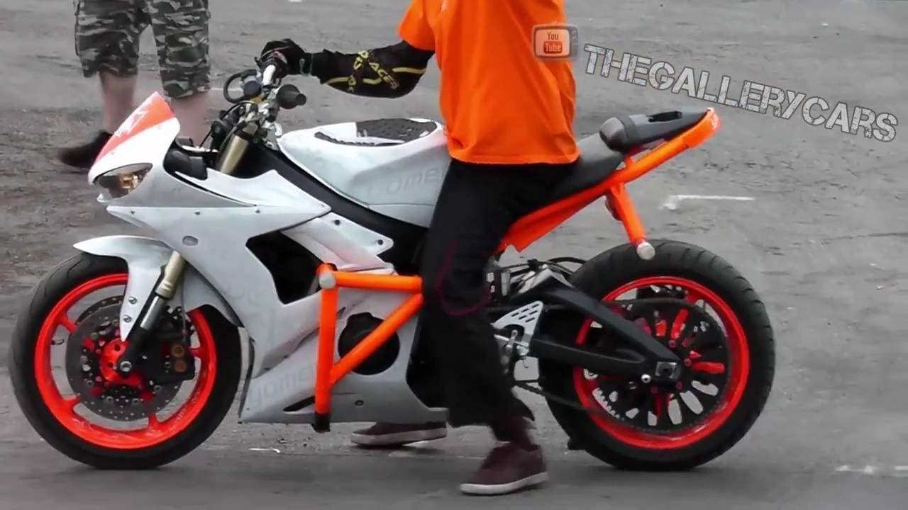 Bike Stunts Yamaha R6 and Honda CBR | Yamaha r6, Bike, Honda