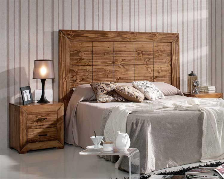 Ideas para cabeceros de cama cabeceros r sticos - Ideas cabecero cama ...