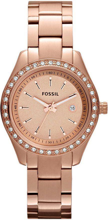 Capri Jewelers Arizona Www Caprijewelersaz Com Fossil Es3196 Stella Mini Three Hand Stainless St Fossil Watch Rose Gold Fossil Watches Women Fossil Watches