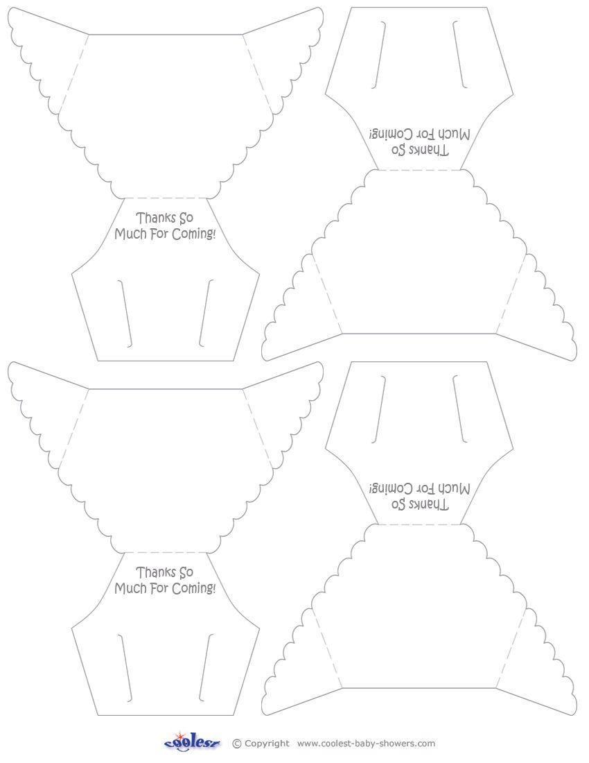 Printable Diaper Invitations Coolest Free Printables Diy