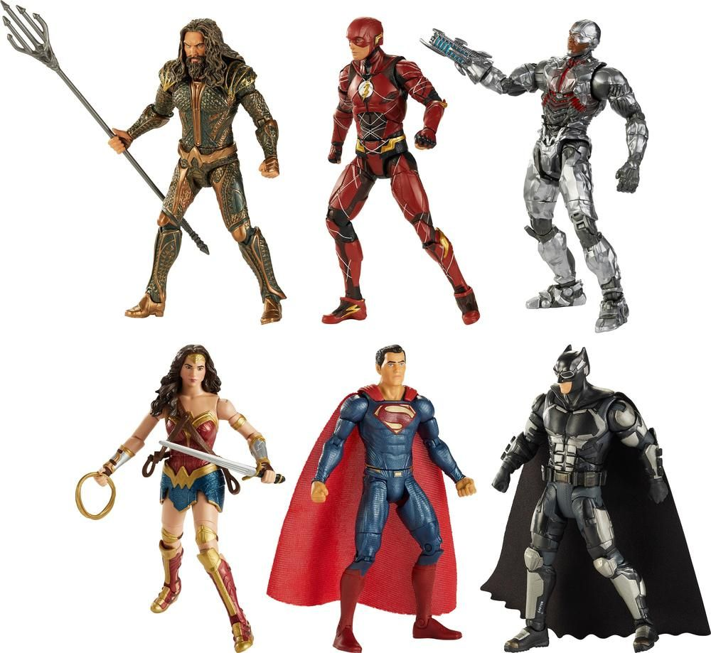 Dc Comics Multiverse Justice League Movie 6 Figure Styles May Vary Fhg04 Best Buy Justice League Action Figures Justice League Comics Justice League