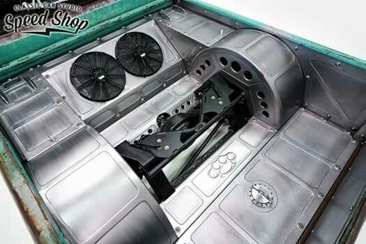 Pin By Jay Mercer On Rat Rod Trucks Custom Car Interior Custom Metal Fabrication