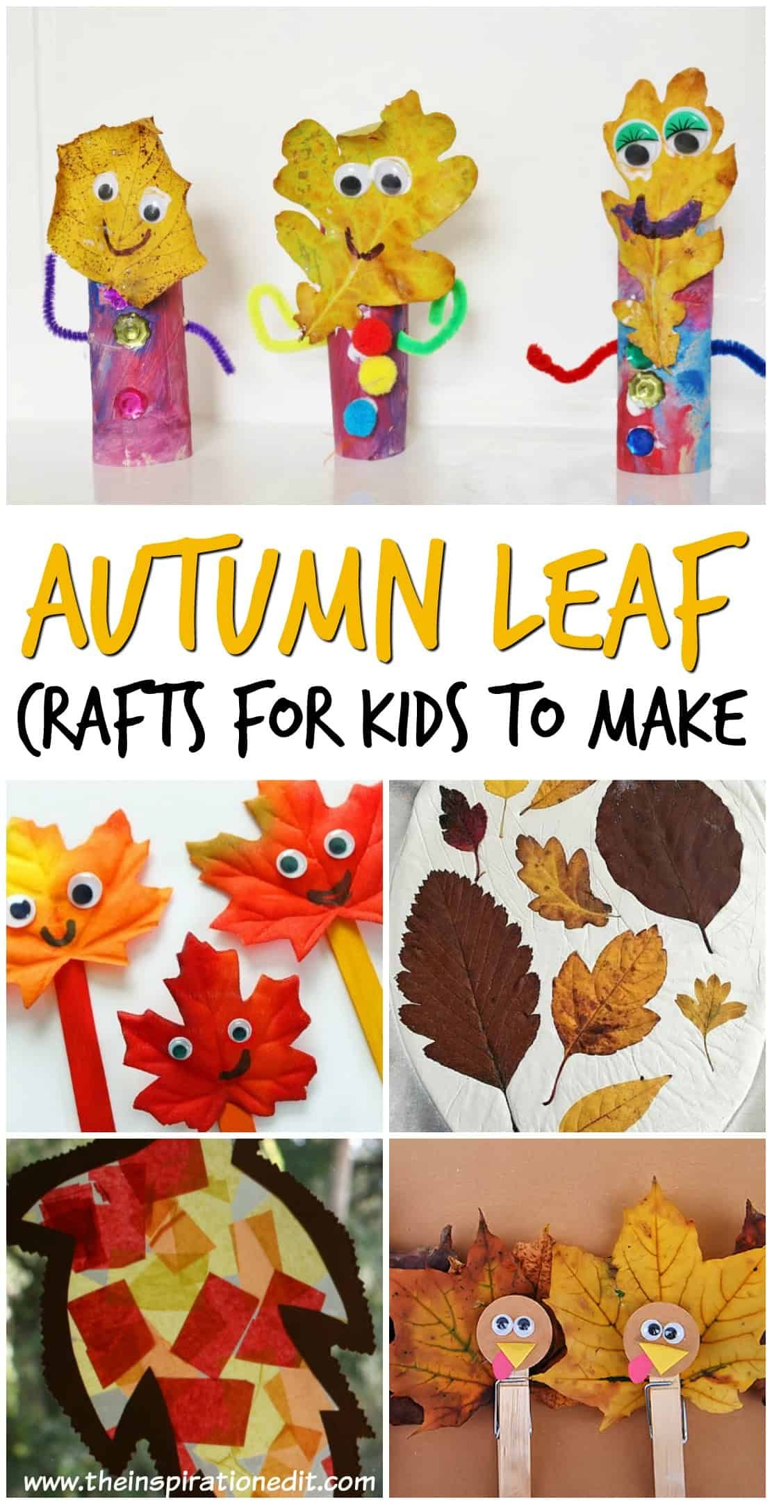 Leaf Autumn Crafts Kids Will Love · The Inspiration Edit