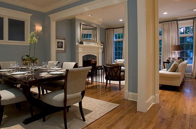 salon salle a manger moderne Idee Deco Maison déco salle - Decoration Salle Salon Maison