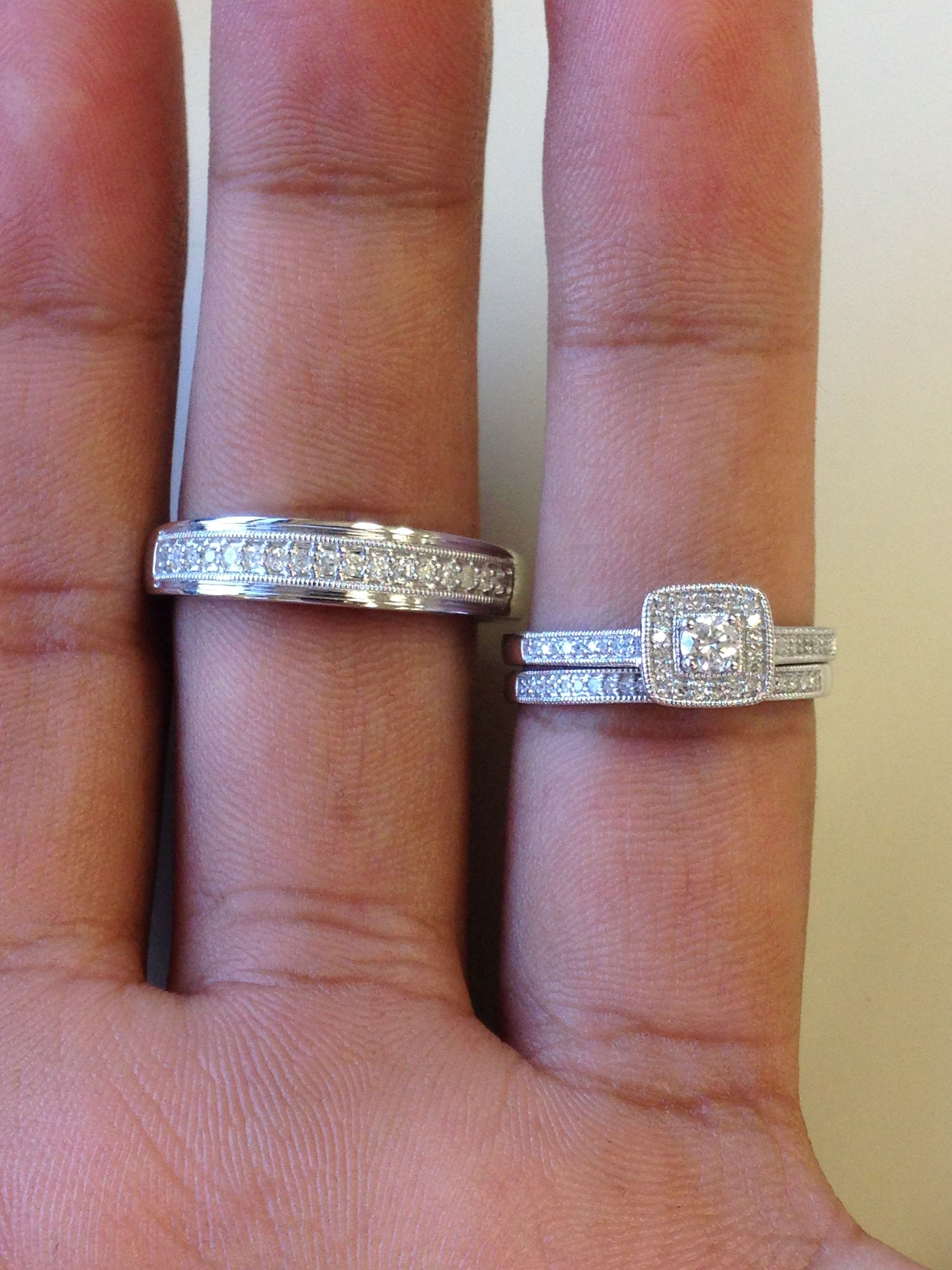 rings pave white row band gold fullxfull braided tcw carat wide listing diamond il wedding