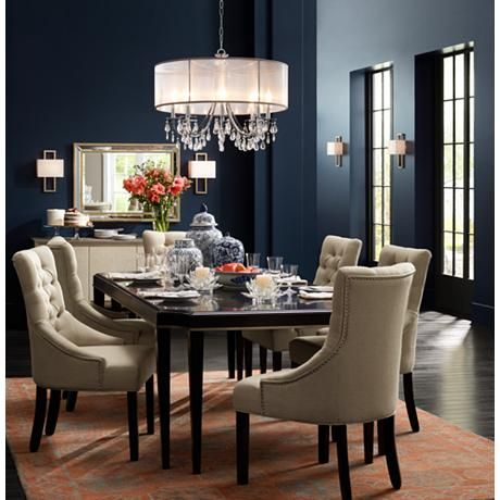 Hampton Collection 32 Wide Chandelier Beautiful Dining Rooms