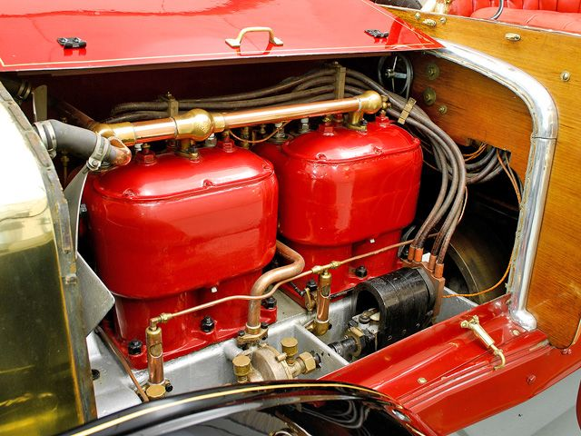 1906 American Tourist Engine 2 View