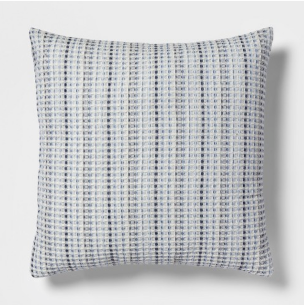 Pin By M B Design On Client Living Room Spruce Up Blue Throw Pillows Throw Pillows Square Throw Pillow
