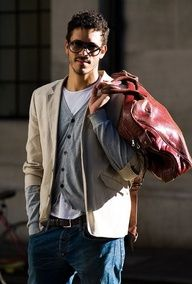 Street Style Men. Masculine style. Embrace luscious living with LUSCIOUS: www.myLusciousLife.com