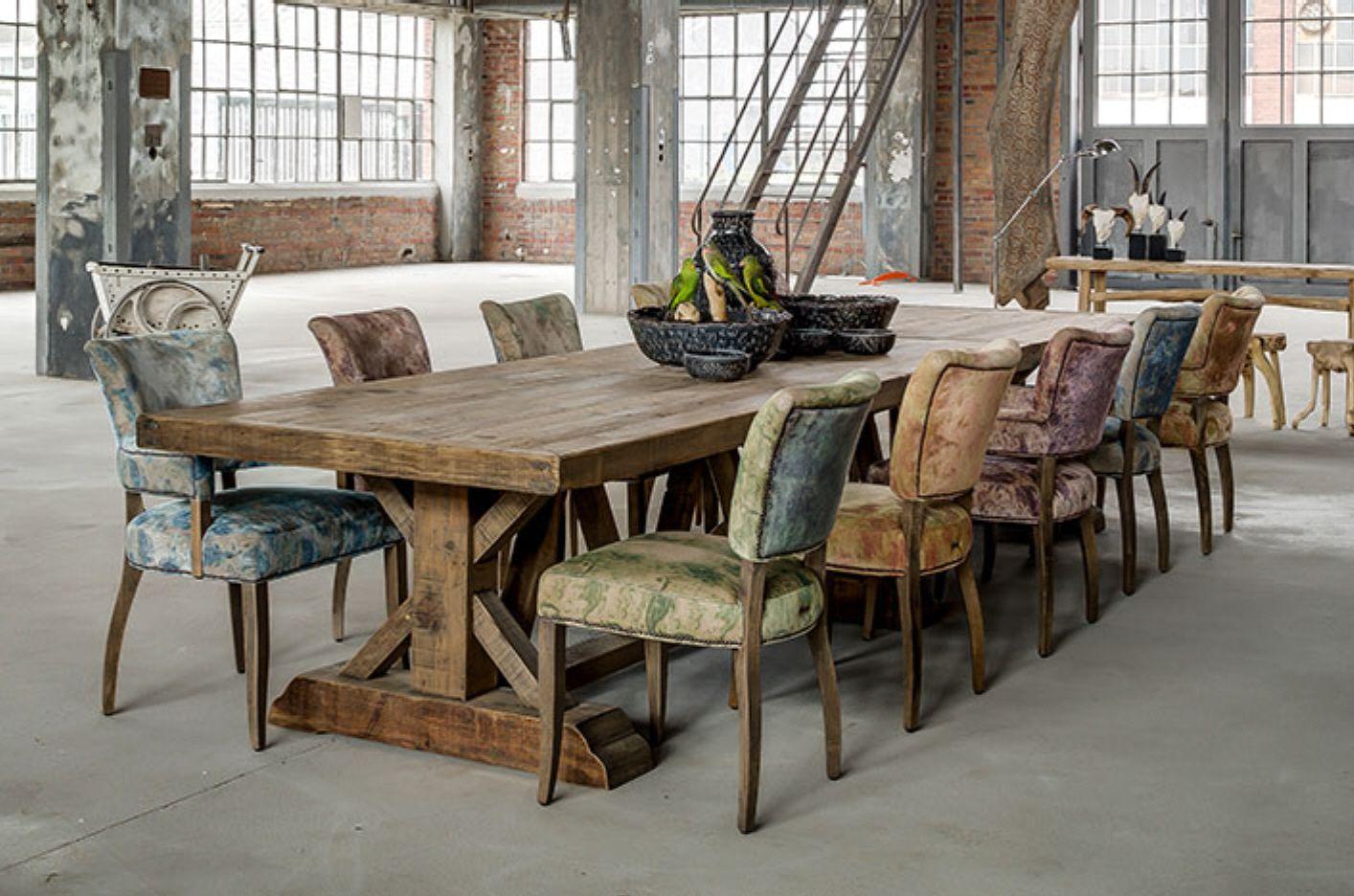 Tische Von MATZ Holztisch Massiv Altholz Esstisch