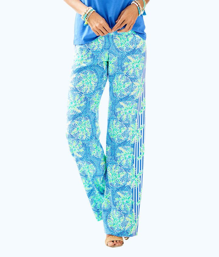 f5bc9242f598 Lilly Pulitzer Womens 33 Bal Harbour Palazzo Pant