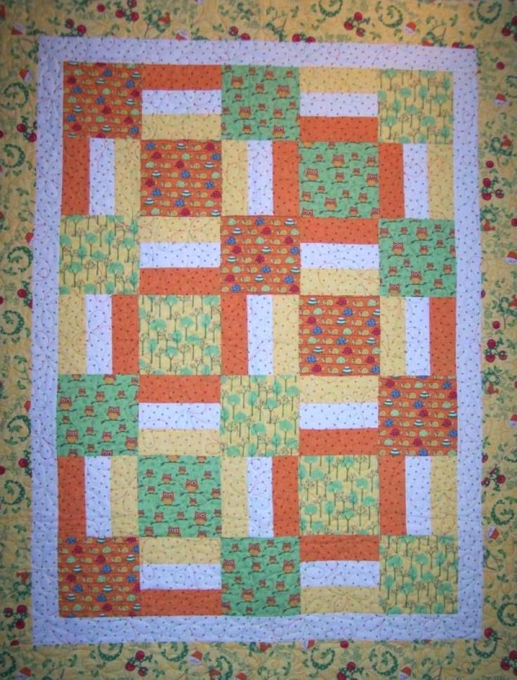 Simple Modern Baby Quilts Pdf Sewing Pattern Baby Boy Quilt Patterns ...