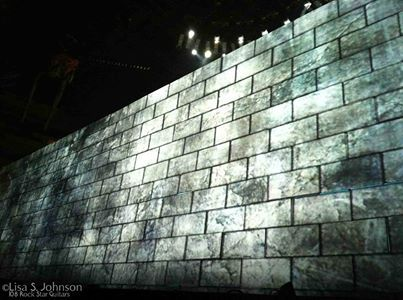"""On this day, March 22nd, 1980: Pink Floyd's """"Another Brick In The Wall (Part II)"""" hits #1 in the Billboard charts, their only #1 single.   Here's a shot from Roger Waters' The Wall in Athens, Greece 2011."""