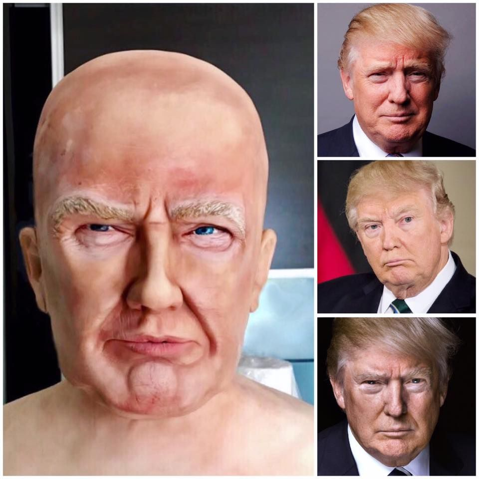 Tuba Geckil | US President Donald Trump Cake