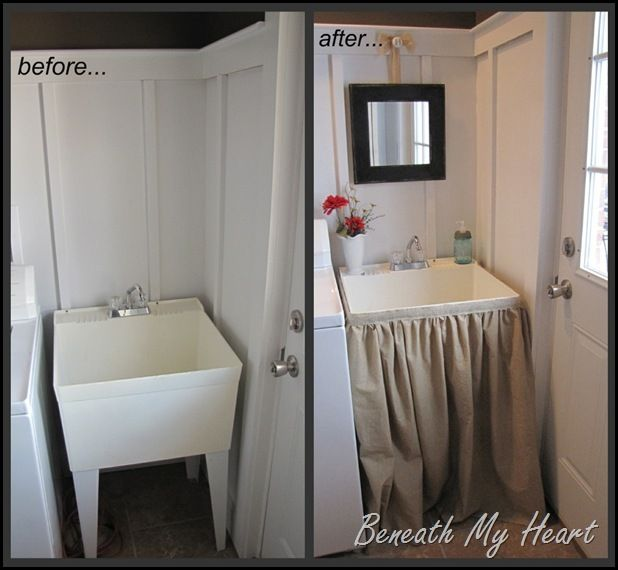 Takeover Tuesday Mudroom Sink Redo With Beneath My Heart