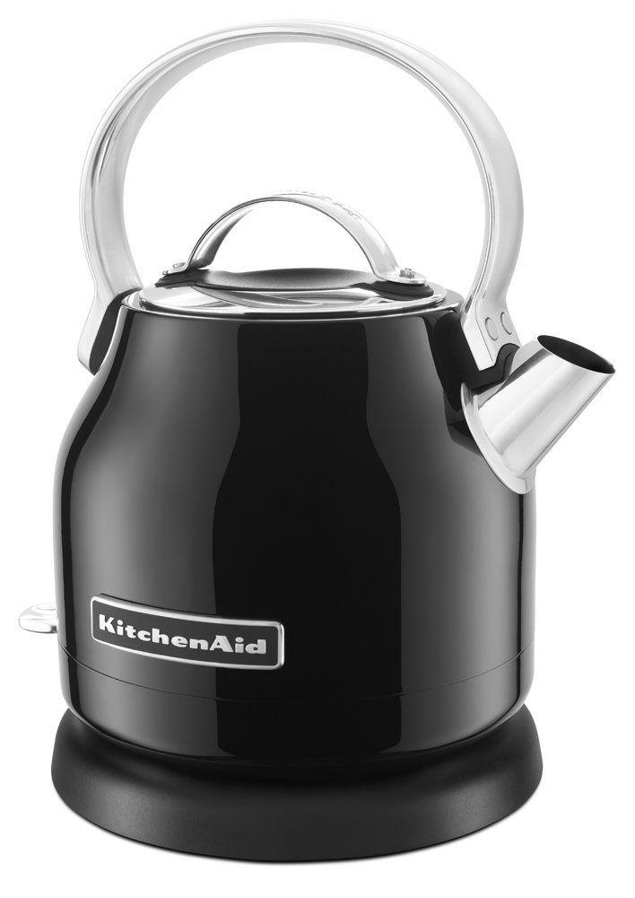 Kitchenaid Kek1222ob 1 25 Liter Electric Kettle Onyx Black Teapots