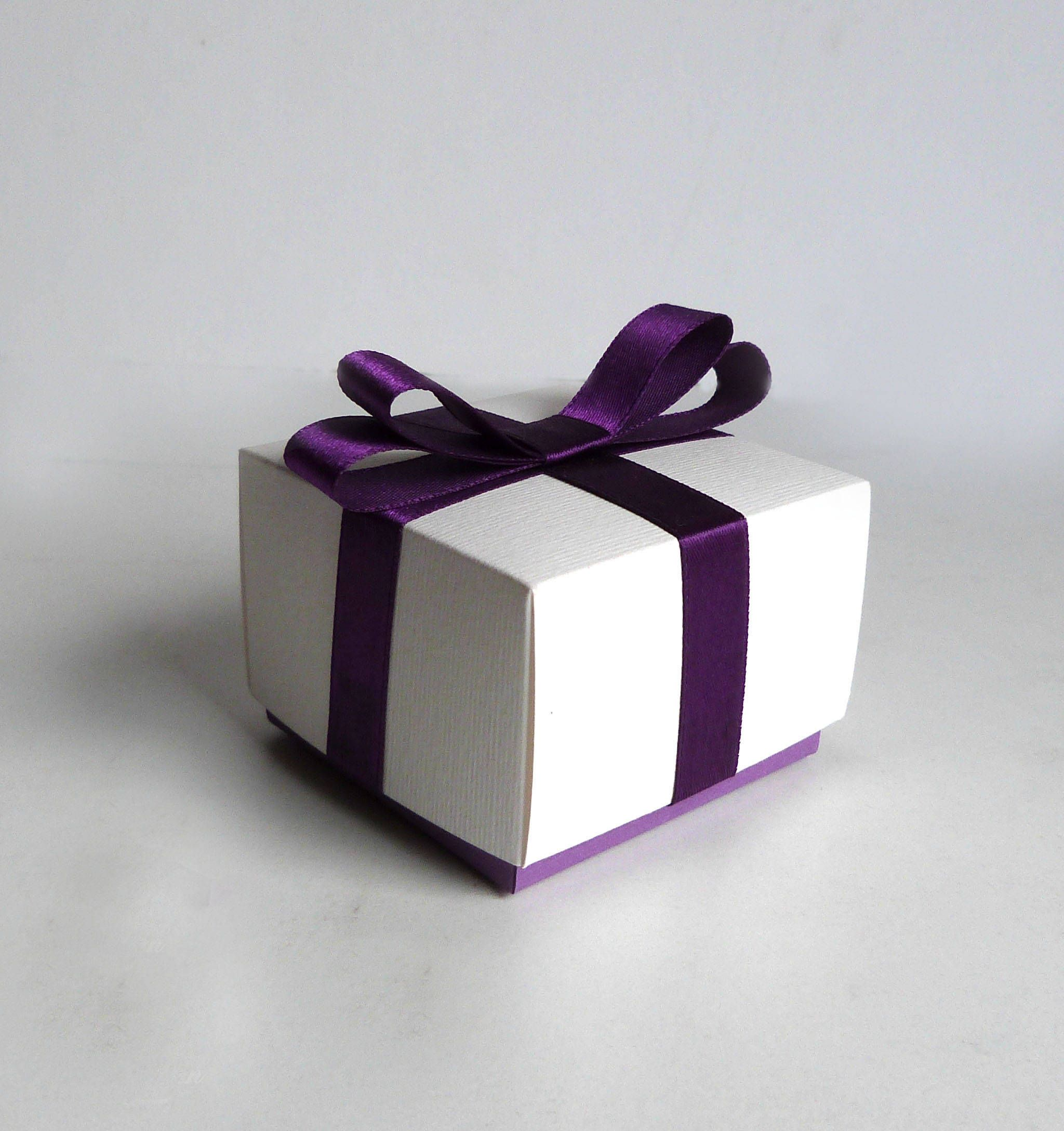 10 pcs Purple Wedding favor box,Gift box,Candy box,Favor boxes ...