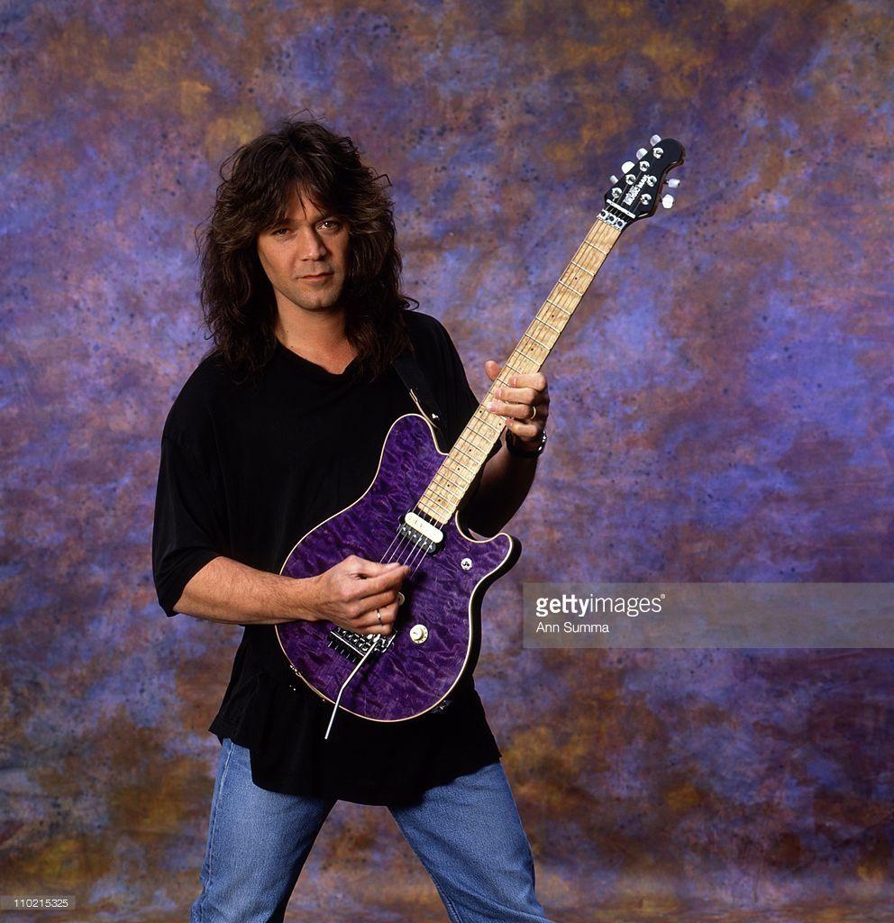 Guitarist Eddie Van Halen Of Van Halen Van Halen Eddie Van Halen Rock And Roll Bands