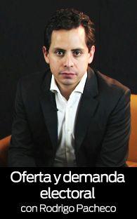 Oferta y demanda electoral, la videocolumna de Rodrigo Pacheco. Hoy, nos habla de los emprendedores en las campañas